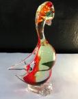 animale anatra in vetro di Murano