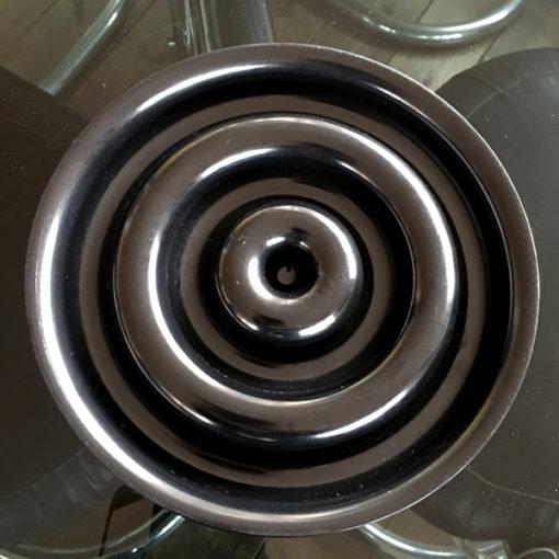 posacenere kartell modello 4636 nero