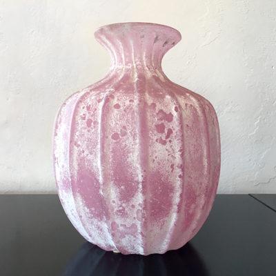 vaso Seguso Scavo di Seguso vetri d'arte