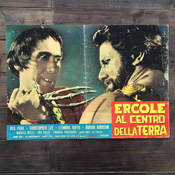 Ercole al centro della terra fotobusta film italiano 1961