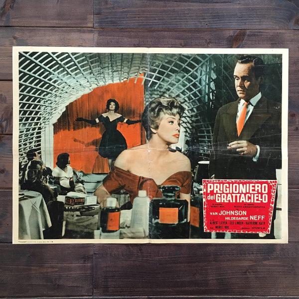 prigioniero del grattacielof film poliziesco 1959 Gran Bretagna
