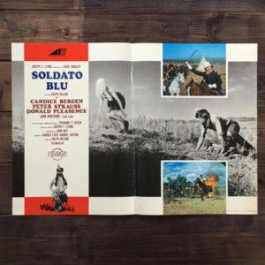 fotobusta Soldato blu 1970