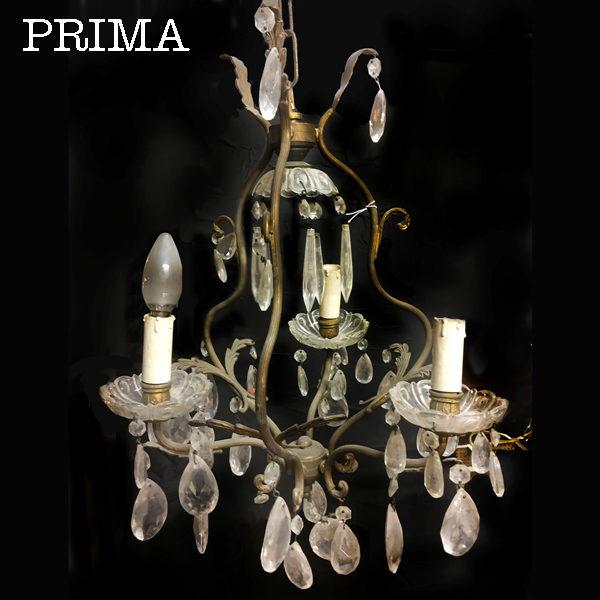 chandelier a cestino