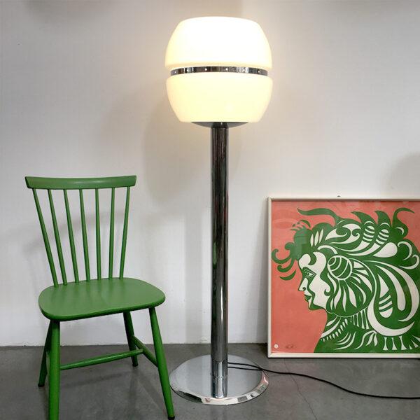 lampada da terra anni '70 modernariato