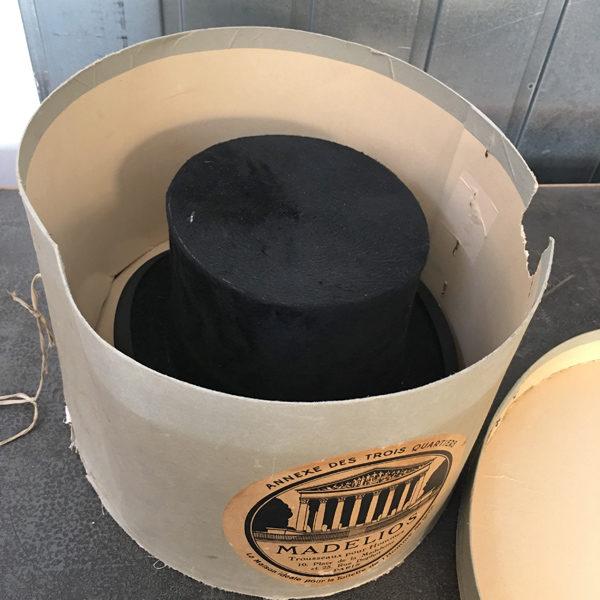 Cappello a cilindro Bobeche vintage