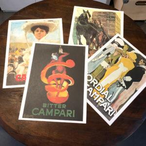 pubblicità Campari modernariato by Bobeche vintage store