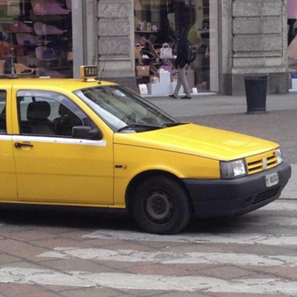 insegna taxi lampada vintage Bobeche