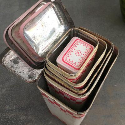 set scatole porta spezie Bobeche