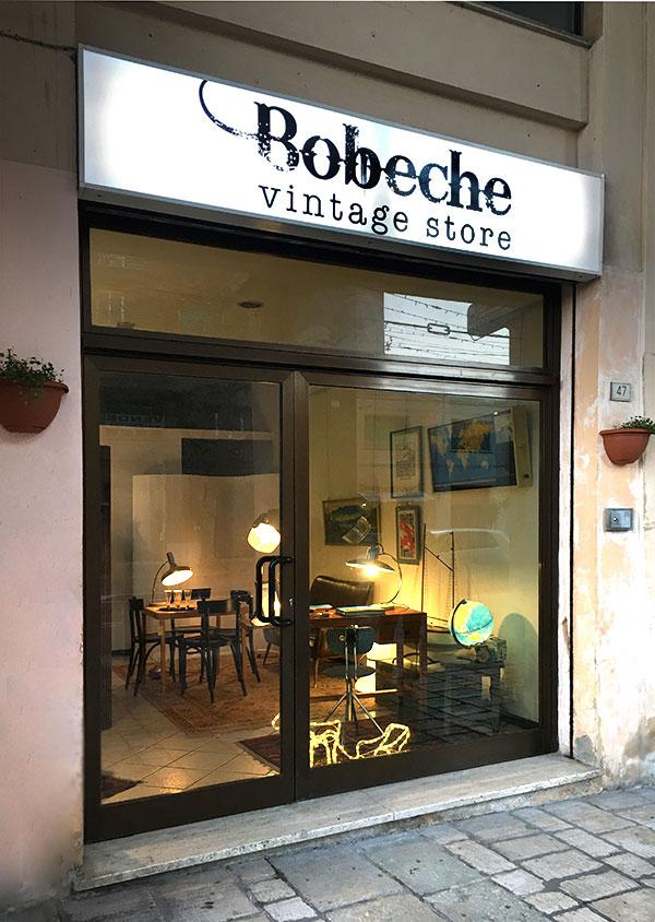 Bobeche vintage store modernariato