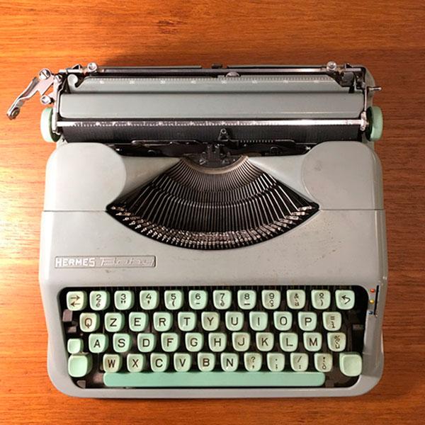 hermes baby typewriter Bobeche
