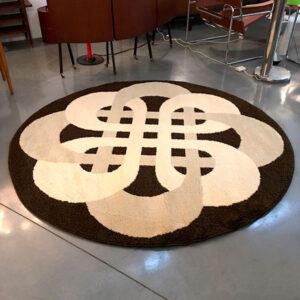 tappeto vintage tondo Bobeche