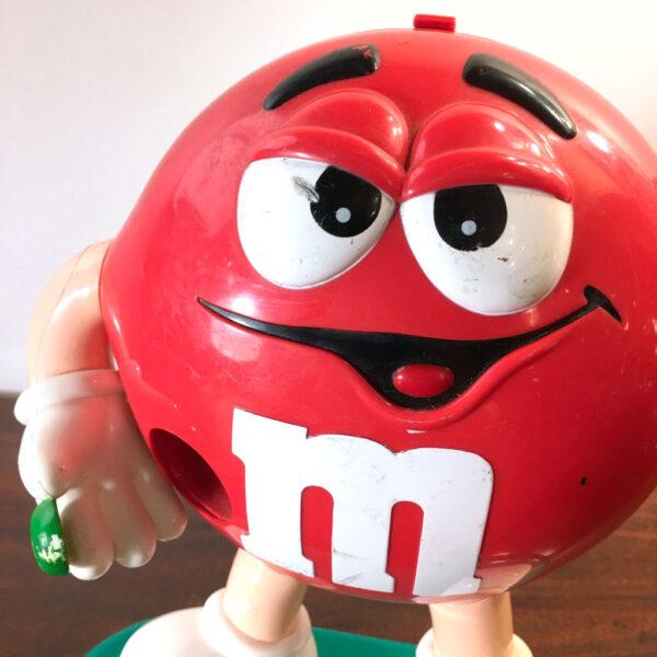 dispenser M&M rosso