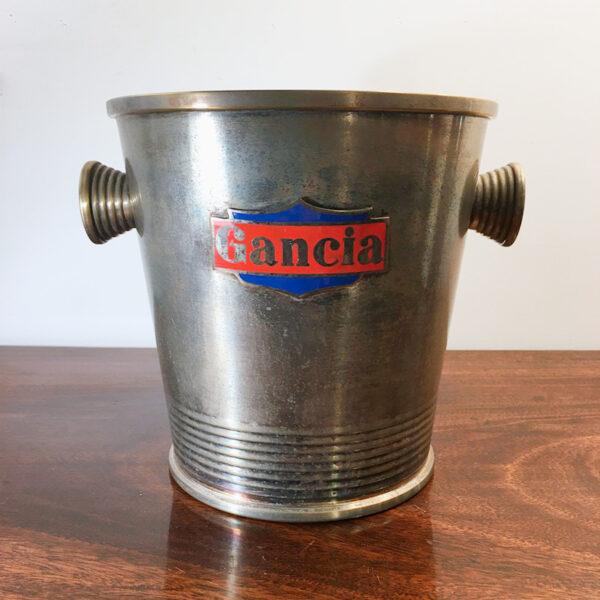 secchiello Gancia vintage