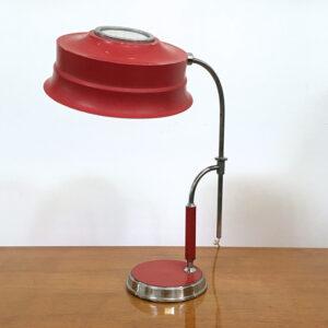 lampada da scrivania vintage regolabile