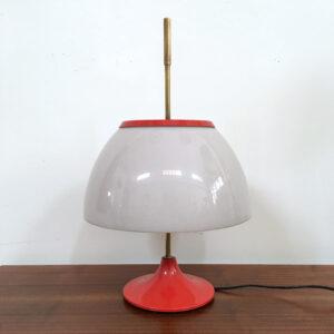 lampada da tavolo vintage arancione