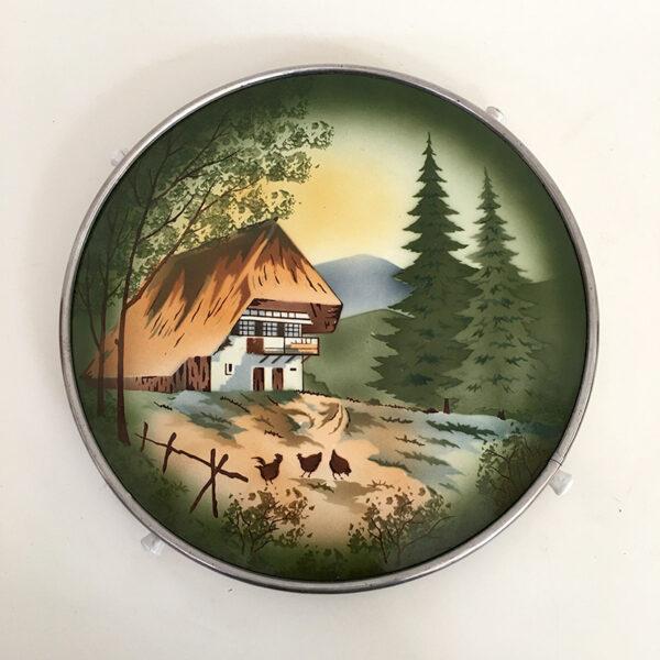 vassoio girevole vintage