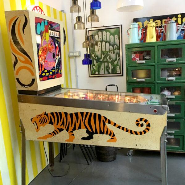 flipper Gottlieb Tiger 1975
