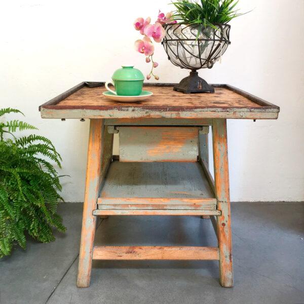 tavolino calzolaio vintage Bobeche
