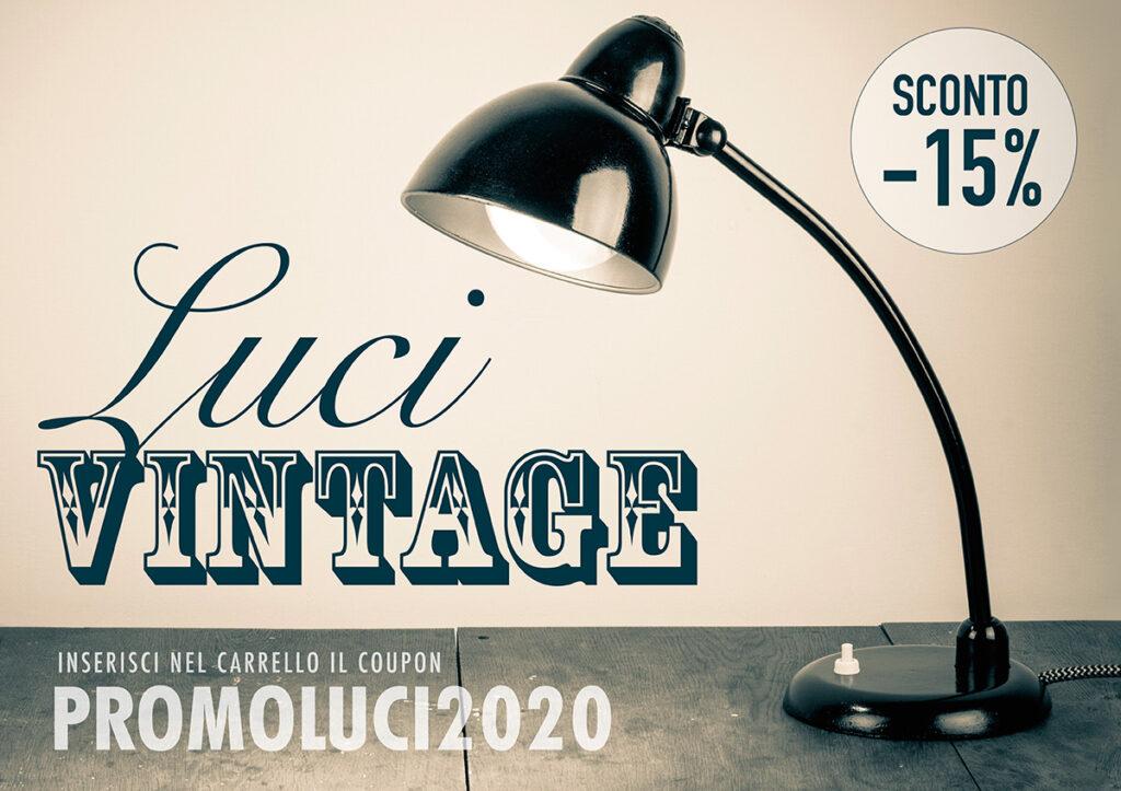 lampade vintage in sconto
