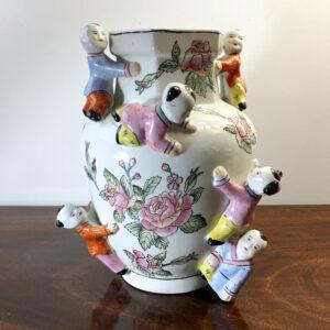 vaso cinese della fertilità vintage