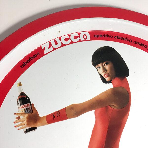 vassoio rabarbaro Zucca vintage pubblicitario