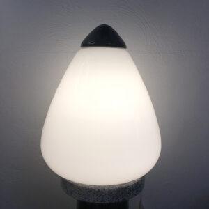lampada in vetro di Murano vintage anni '70 modernariato