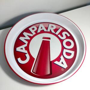 vassoio Campari Soda vintage modernariato pubblicitario