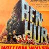 manifesto film Ben Hur vintage
