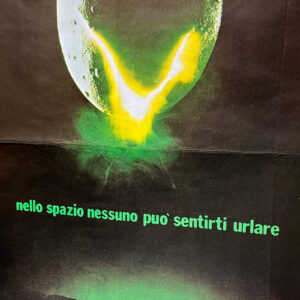 manifesto film Alien 1979 vintage
