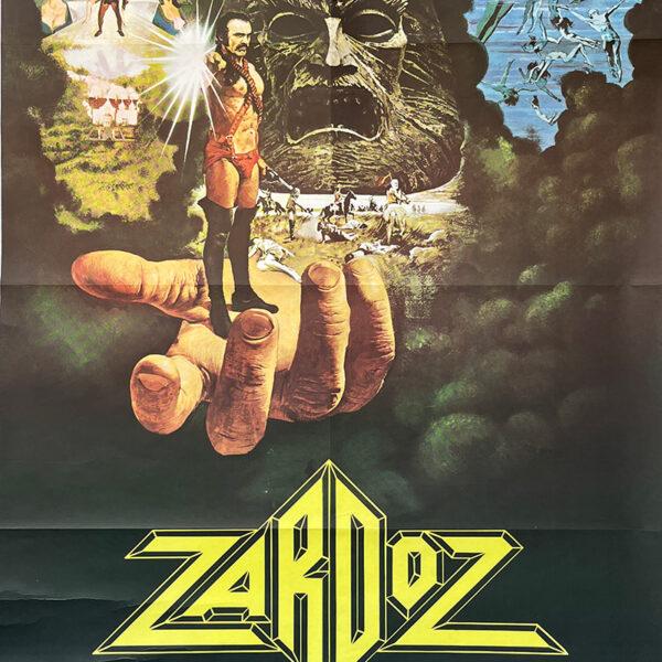 manifesto film di fantascienza Zardoz 1974