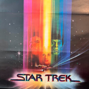manifesto vintage film Star Trek